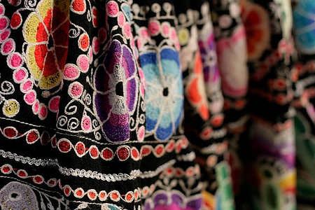 ペルー スカート 伝統織物