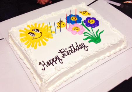 スペイン語 お誕生日 ケーキ