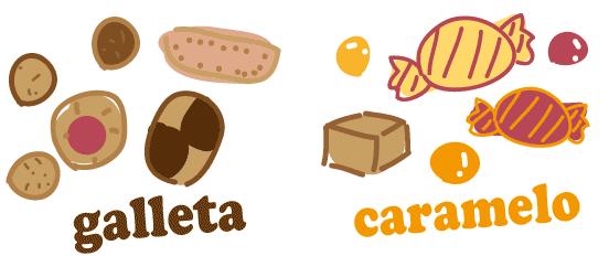 スペイン語 クッキー 飴 キャンディー