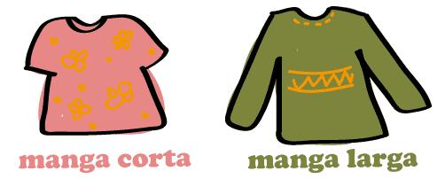 スペイン語 半袖 長袖