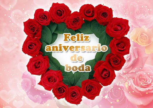 スペイン語 結婚記念日
