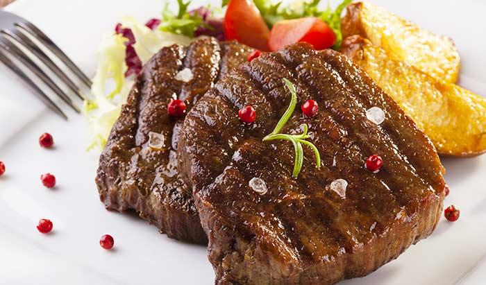 ステーキの焼き加減 ミディアム レア ウェルダン