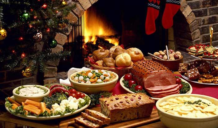 クリスマスのとり肉