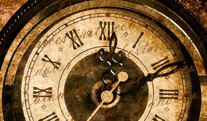 古い時計 アンティーク