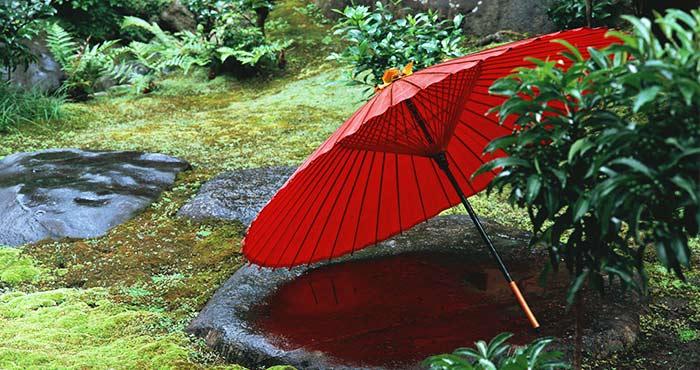 傘をかして スペイン語