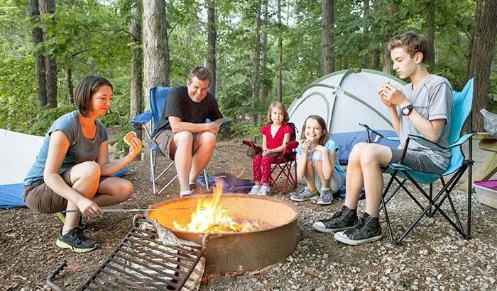 ピクニックやキャンプとスペイン語