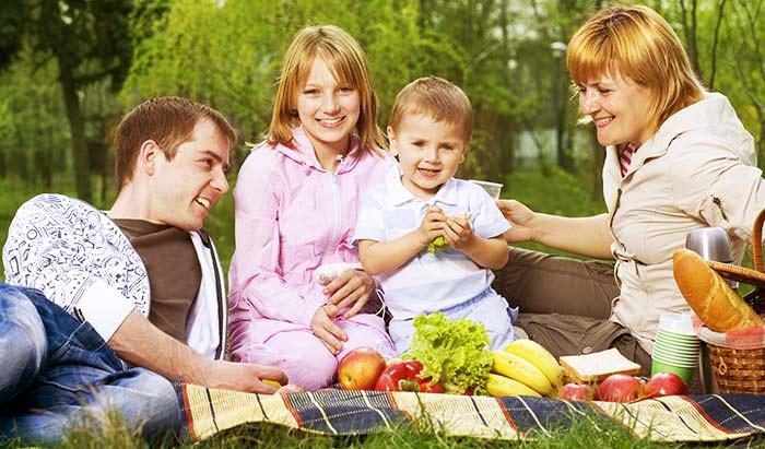 ピクニックのスペイン語とその写真