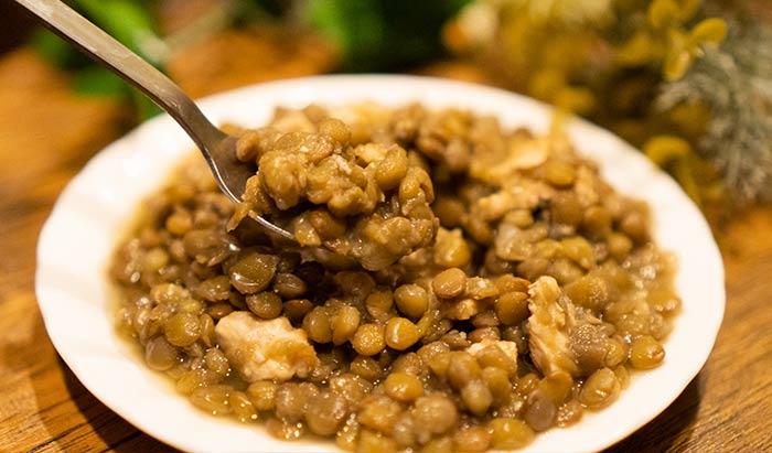 レンズ豆とスペイン語