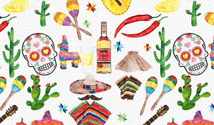メキシコとサボテン